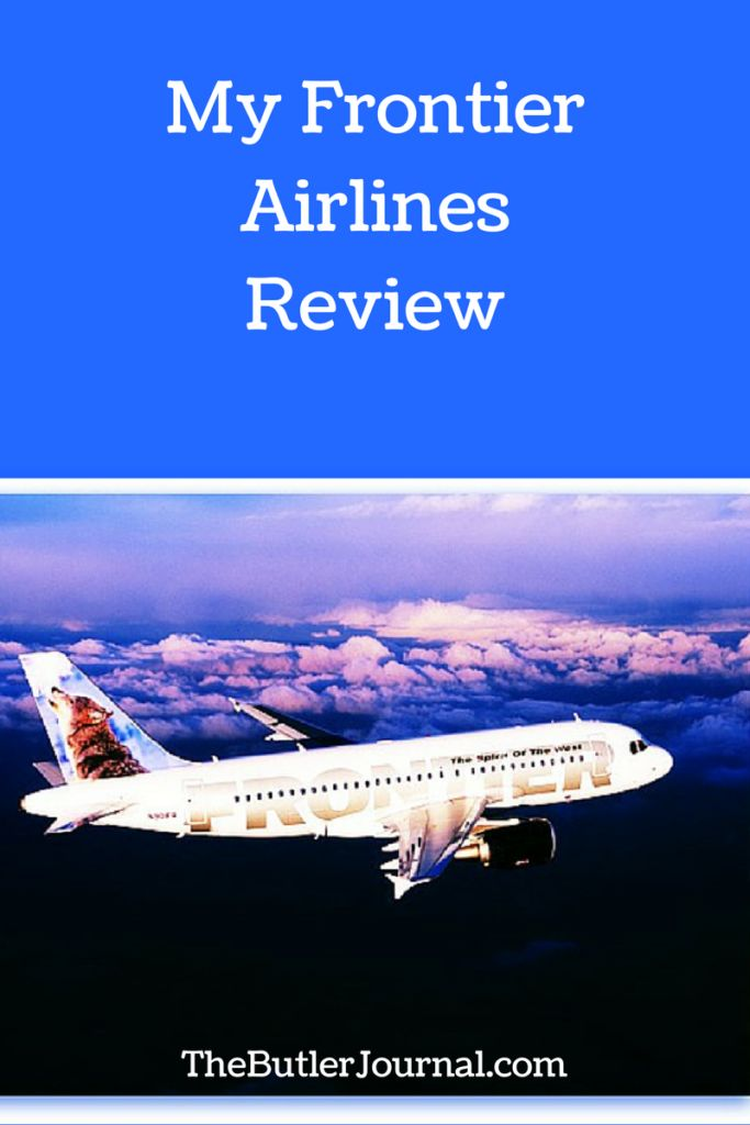 I had the opportunity to fly with Frontier Airlines last month. I can't lie, I was a little nervous.This post is my Frontier Airlines review.