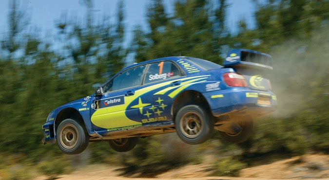 Petter Solberg - Awesome capture and a true rally legend!
