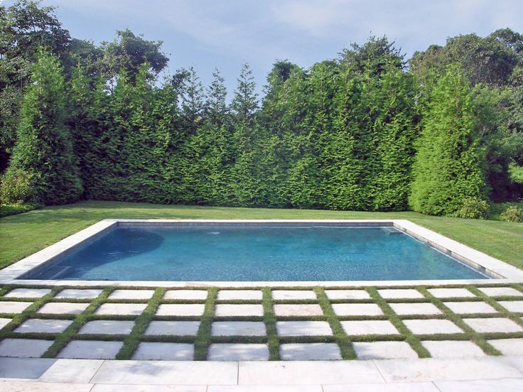 40 best swimming poor deck images on pinterest above for Simple pool landscaping ideas