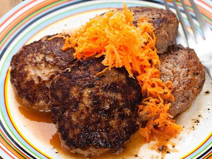 Jauheliha-porkkanapihvit