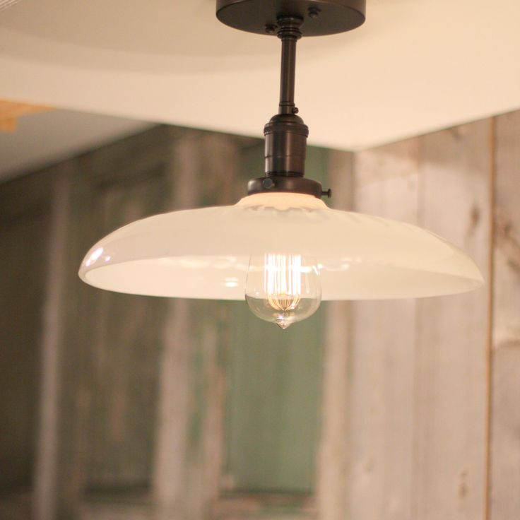 Flush Style Lighting with Exposed Socket Design by lucentlampworks, $278.00