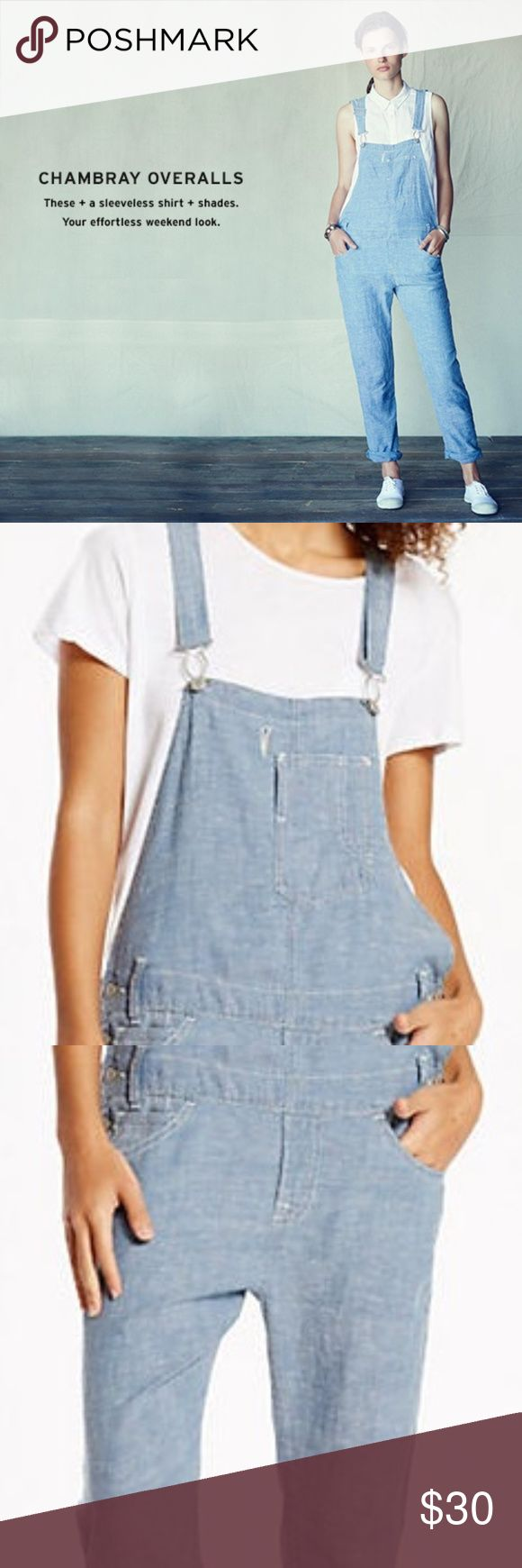 Levi's Lightweight Chambray Overalls Levi's Lightweight Chambray Overalls Only worn once! Levi's Pants