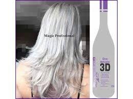 Resultado de imagem para Magic Color Matizador 3D Platinum Branco 550 ml