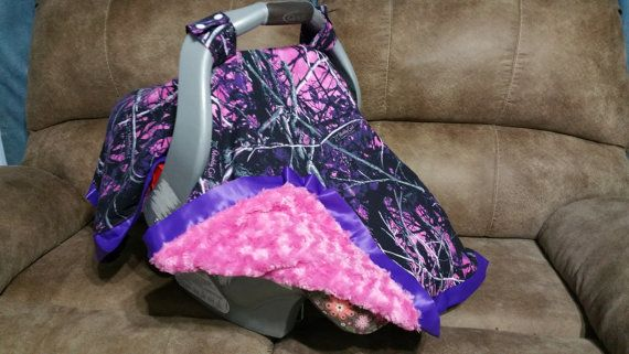 Realtree Carseat Canopy Muddy Girl Camo Carseat Tent by ShaysStore