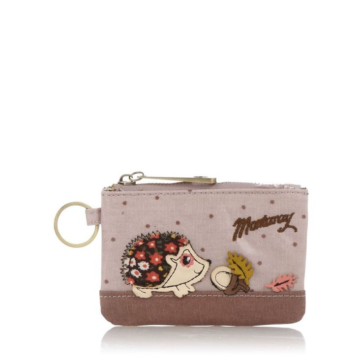 Mantaray Womens Pale Pink Hedgehog Coin Purse From Debenhams in Purses & Wallets | eBay
