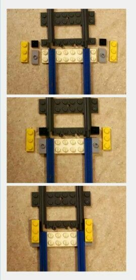 Lego train track adapter old vs new