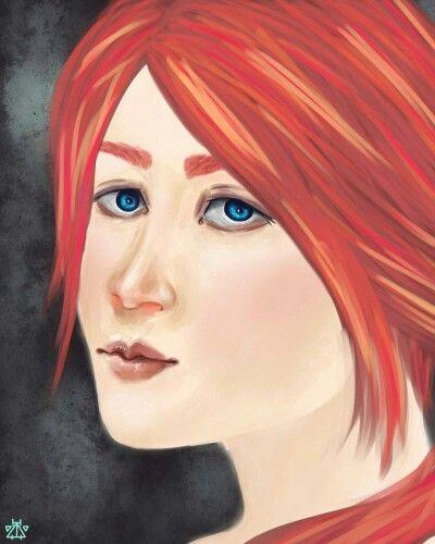 #woman #art #digital #painting #portret