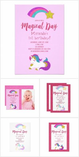 Unicorn Brithday Party Birthday Party Unicorn Themed Supplies For