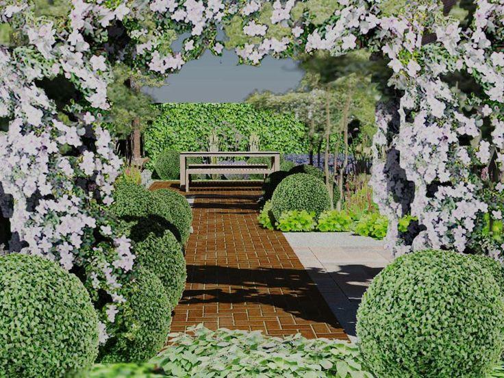 Tuinontwerp cottage tuin achtertuin deventer