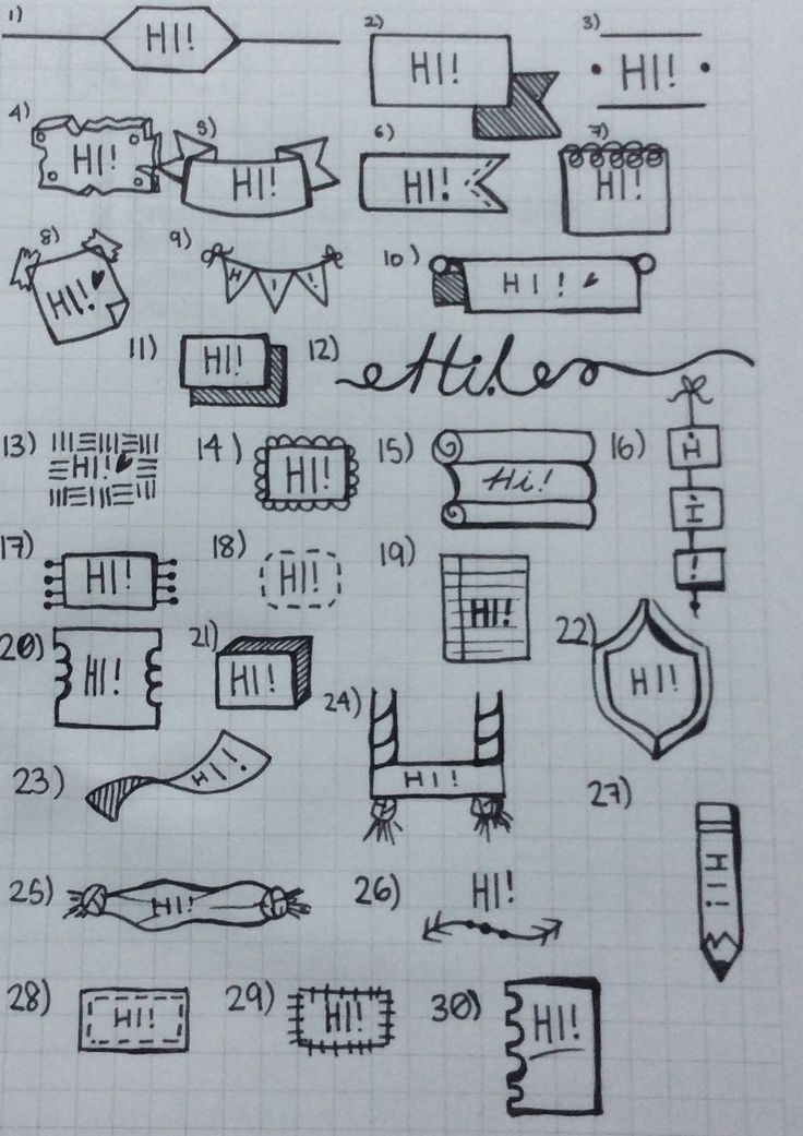 Found an awesome new site, I LOVE These bullet journalling pages and resources!