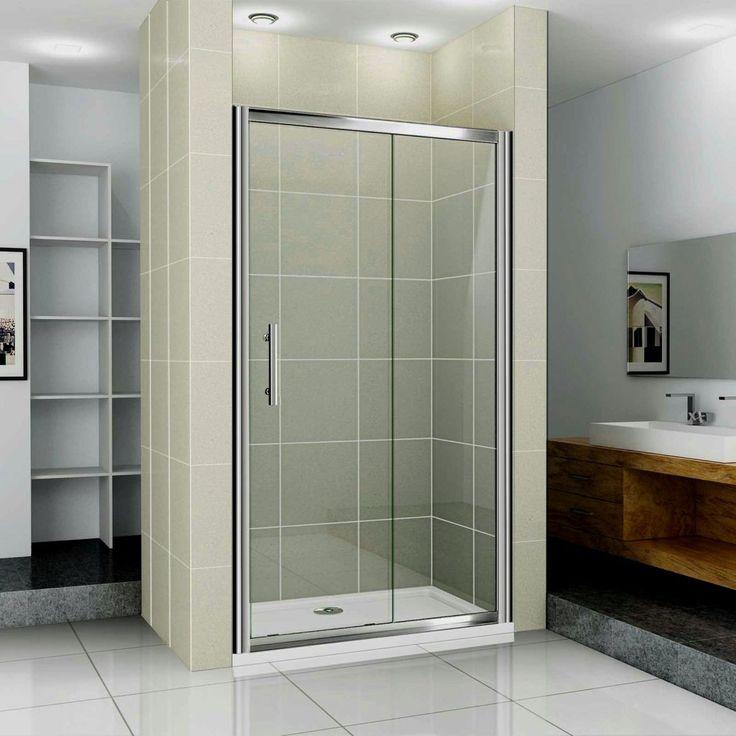 sliding glass bathroom door