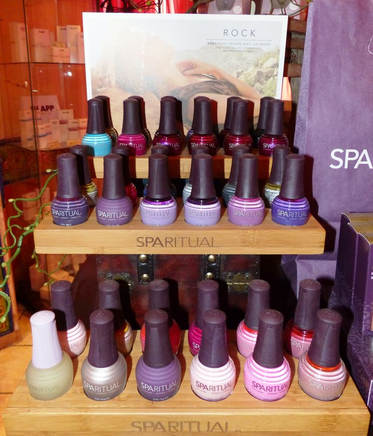 Many different nail colours by #SPAritual - which one do you prefer?