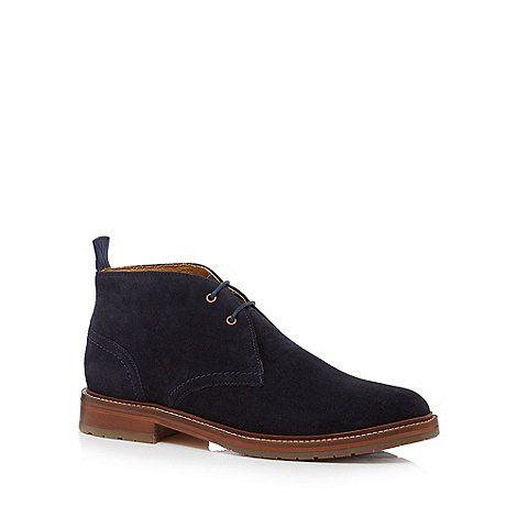 J by Jasper Conran Navy suede Chukka boots - £95