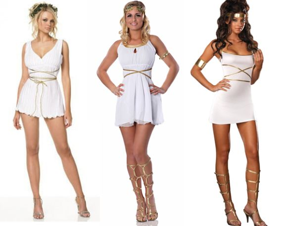 DIY Halloween Costume: Greek Goddess, The Classy Way | lovelyish
