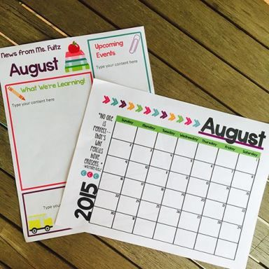 The 25+ best Back to school newsletter ideas on Pinterest Back - school newsletter templates