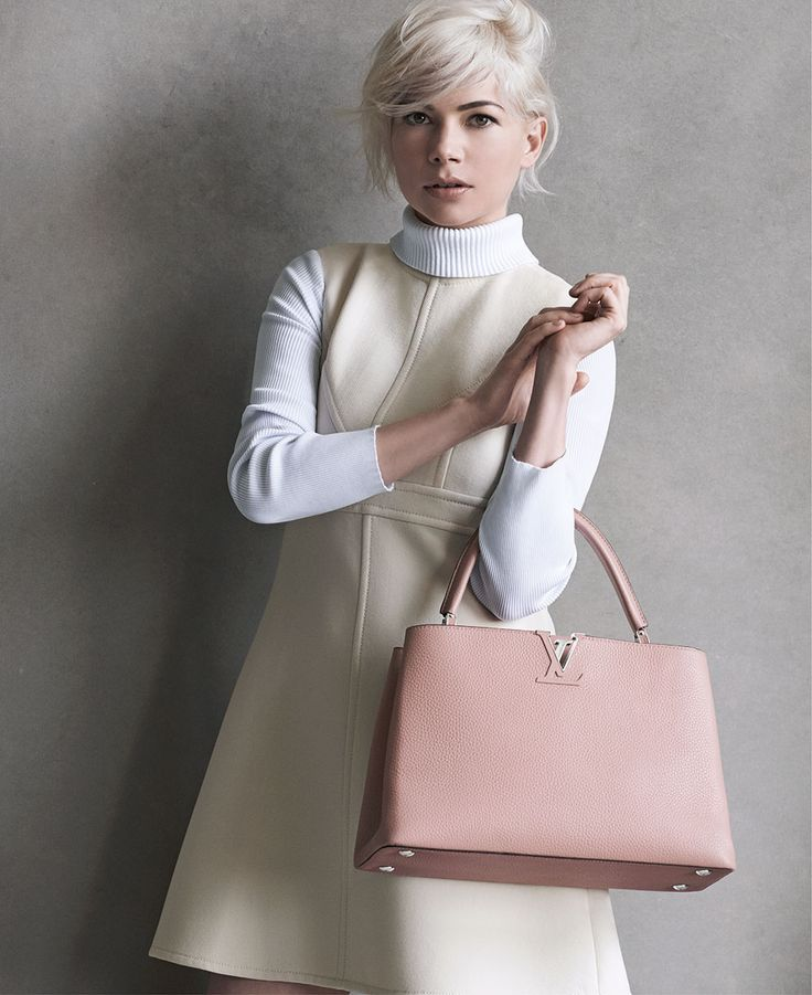 How to Recreate Michelle Williams's Messy French Girl Texture in the New Louis Vuitton Campaign – Vogue