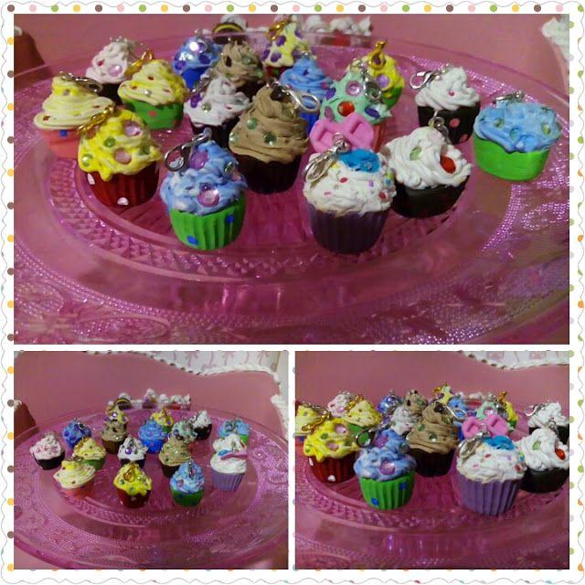 LA VIE EN ROSE: Ciondoli cupcake