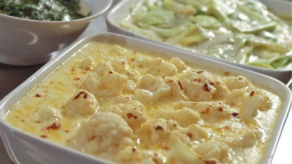 Simple Cauliflower Cheese
