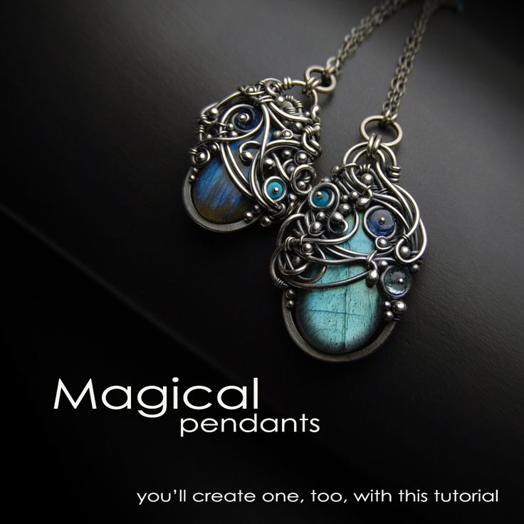 Learn how to create these fascinating Magical Pendants with a detailed step-by-step tutorial. https://www.etsy.com/listing/206395064/the-magical-pendant-tutorial-by-iza
