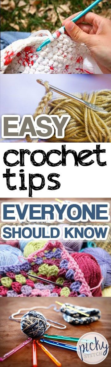 Easy Crochet Tips Everyone Should Know