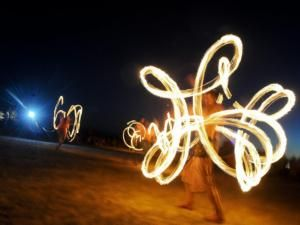 The Africa Burn Festival in the Tankwa Karoo. Picture: Henk Kruger