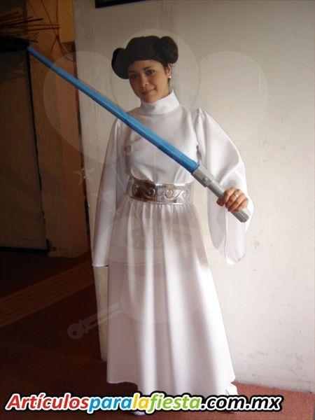 disfraces caseros star wars disfraz para adulto del personaje princesa lea star