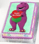 Barney Birthday Cake! Madylynn LOVES Barney!!