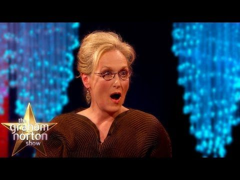Meryl Streep 'Not Pretty Enough' To Be In King Kong - The Graham Norton Show - YouTube