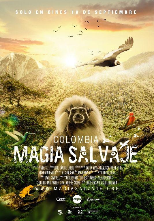 Colombia Magia Salvaje es la película más vista en la historia del cine colombiano