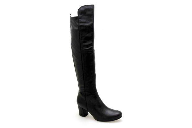 Bottes KARSTON GLAXE Noir - Chaussures femme