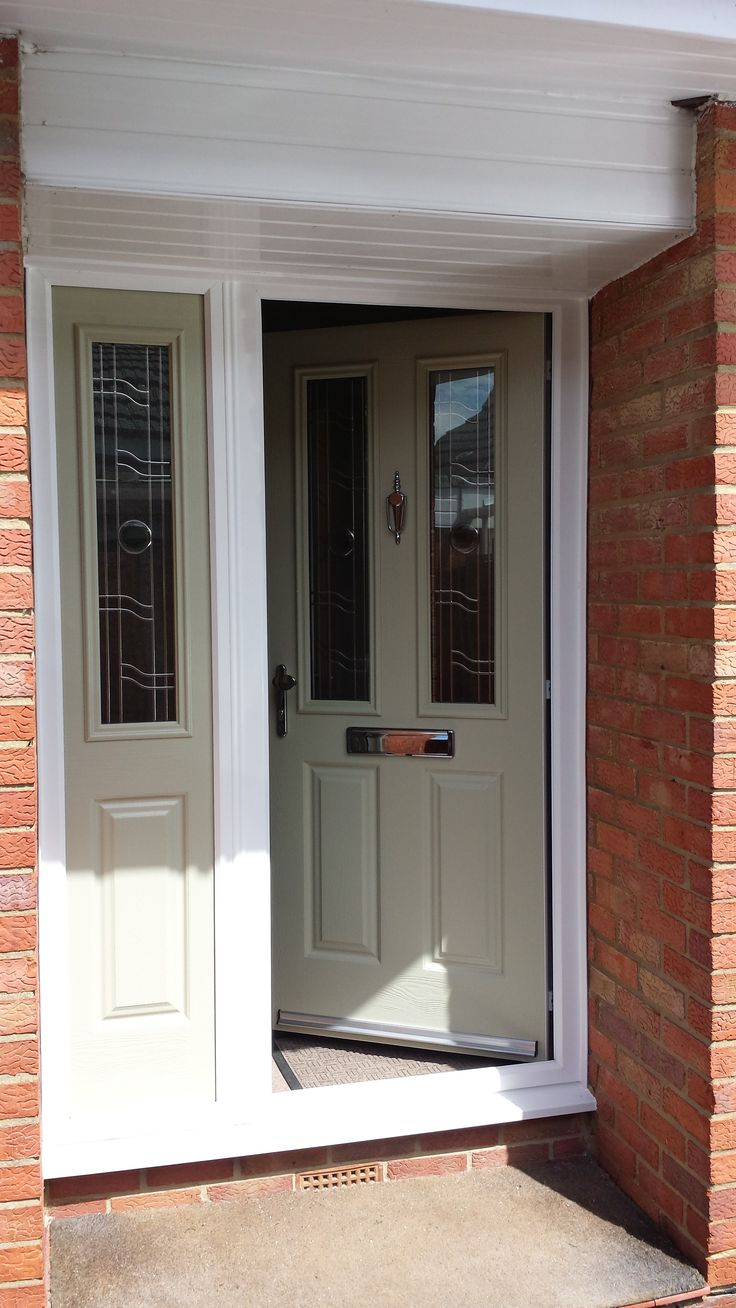 Door Side Panels Our Classic Etna Design Paired With Glazed Side Panels Create A Truly