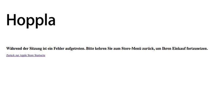Hoppla! Apple Store offline für Zubehör (US & DE) - https://apfeleimer.de/2015/06/hoppla-apple-store-offline-fuer-zubehoer-us-de - Apple Store ist teilweise offline. Aus uns unerfindlichen Gründen ist der offizielle Zubehör-Teil des Apple Online Stores aktuell nicht erreichbar. Weder die Zubehör-Seite des US Apple Stores noch des deutschen Apple Online Stores kann aktuell aufgerufen werden. Während die US Kundschaft mit &#8...