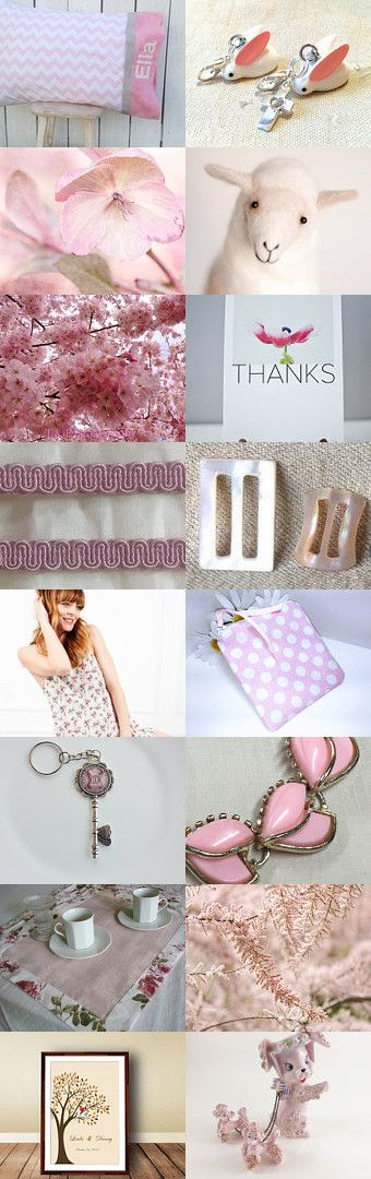 Feeling PINKY today by Siskale on Etsy--Pinned+with+TreasuryPin.com