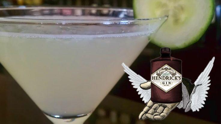 Hendricks Gin Cucumber Martini Recipe - Bartender HQ, Cocktails, Bar Culture and More.
