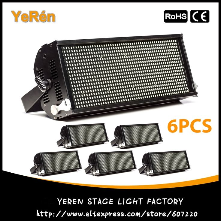 1739.40$  Watch now - http://ali0pe.worldwells.pw/go.php?t=32443405686 - (6PCS) 400W Led Strobe Light 5050 White Color 110-240V Stage Strobe Lights Effect 1739.40$