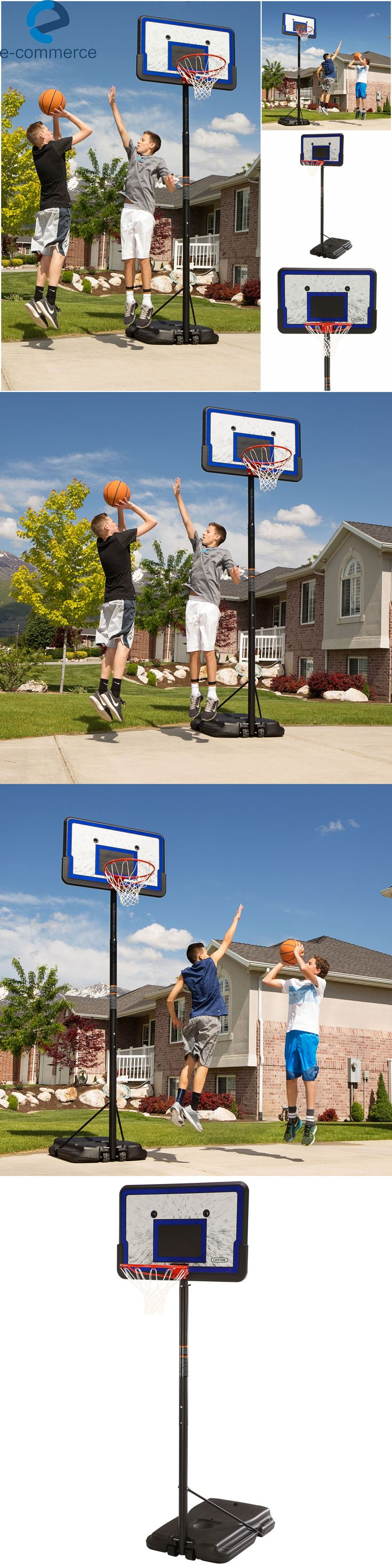 backboard systems 21196 lifetime pro court portable outdoor
