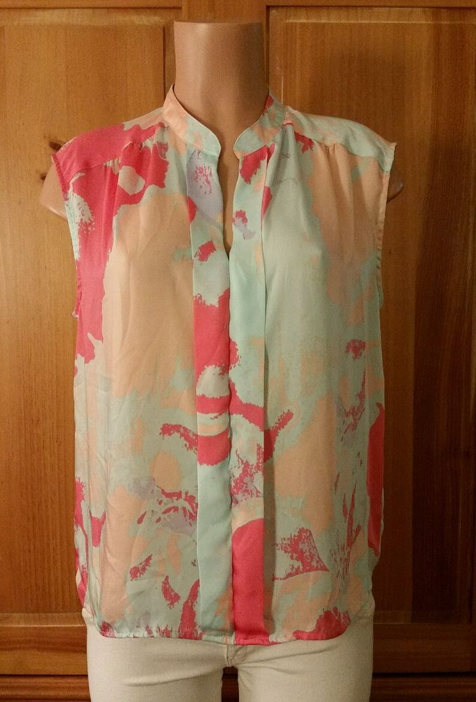 DAISY FUENTES Petite Womens Size PL Sleevless Yneck Lightweight Shirt Top Blouse | Clothing, Shoes & Accessories, Women's Clothing, Tops & Blouses | eBay!