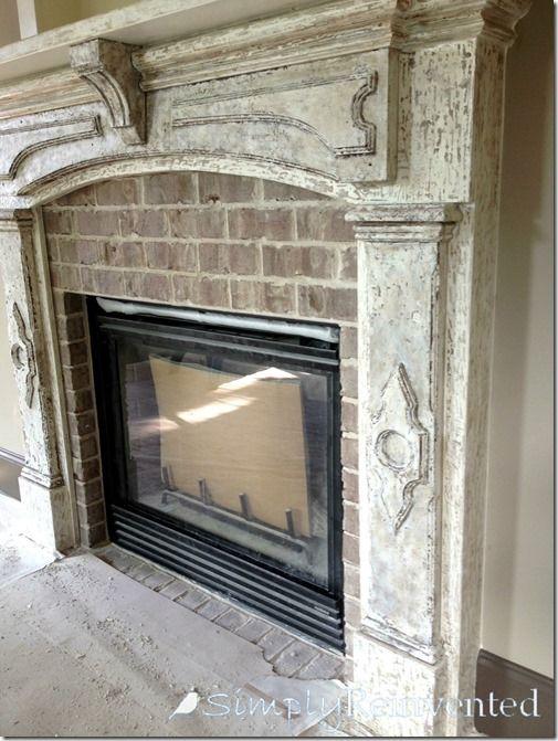 Fireplace Finishes Ideas best 25+ distressed fireplace ideas on pinterest | fireplace redo