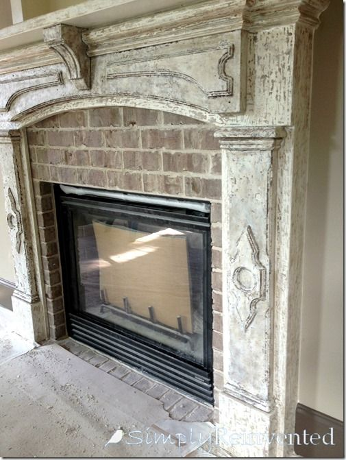 25 Best Ideas About Distressed Fireplace On Pinterest Distressed Mantle Rustic Crown Molding