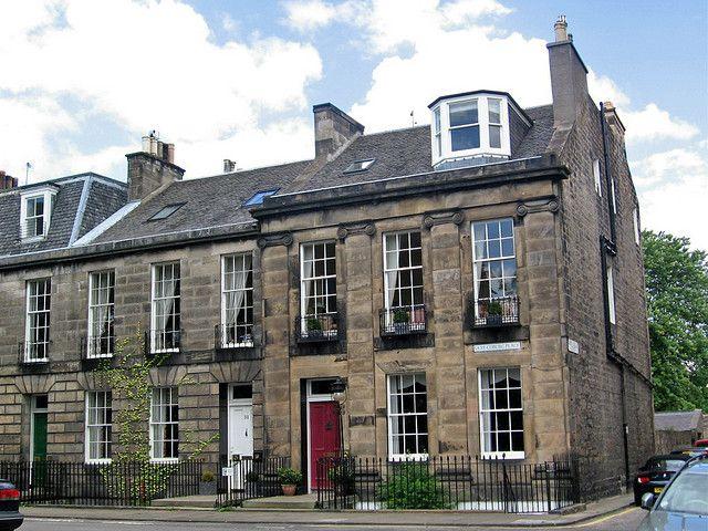 Georgian architecture, Saxe Coburg Place, Edinburgh by Paul McClure DC on Flickr.