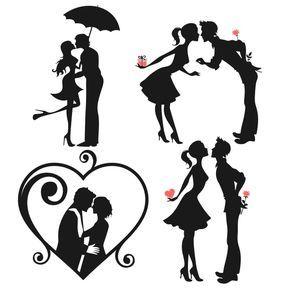 Love Couple Svg Cuttable Designs
