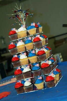 Tara's Cupcakes: A going away party for a military collegue