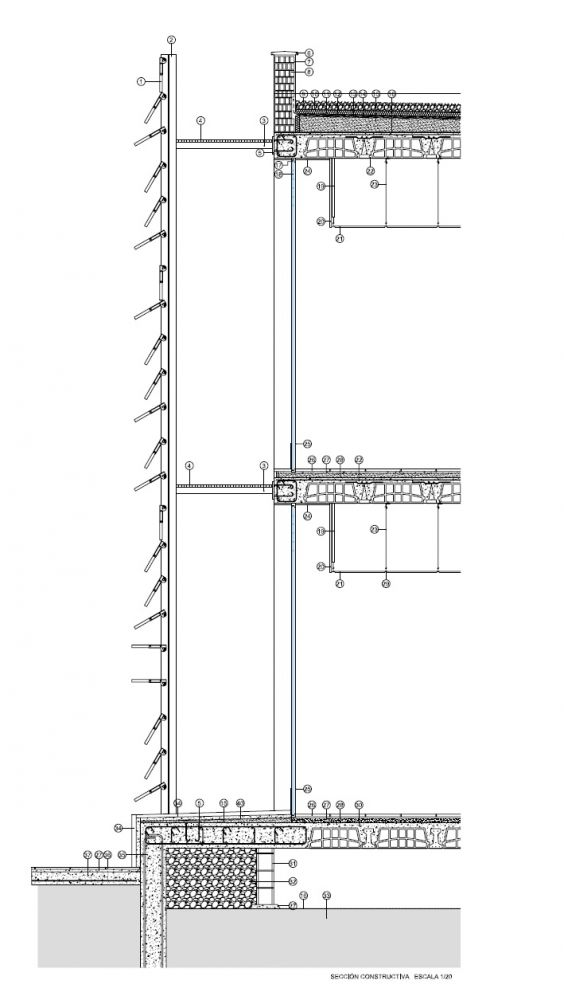 Ping Complex Plan Elevation Section : Best floor plans sections elevations images on