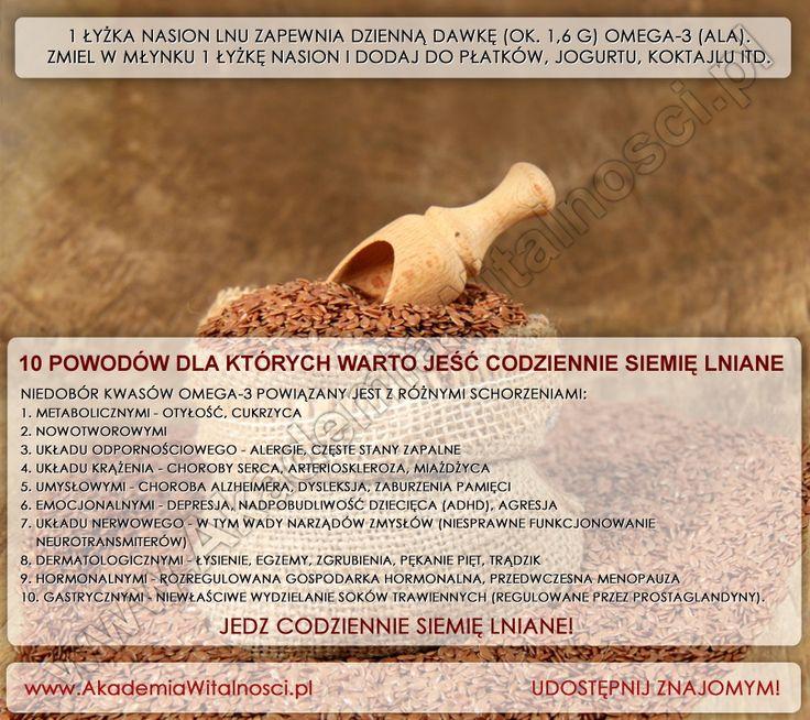 http://www.akademiawitalnosci.pl/10-powodow-dla-ktorych-warto-jesc-siemie-lniane-codziennie/