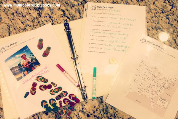 My Holiday Diary - printables for children