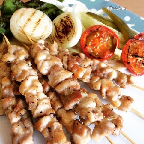 Kordelyanın mutfağı: TAVUK ÇÖP ŞİŞ