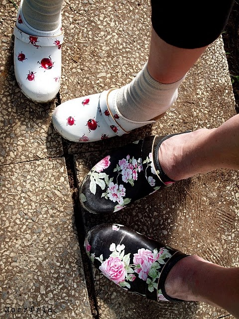 Swedish clogs
