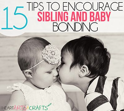 A great list of tips on how to help encourage sibling bonding for any parent out there with a new addition to your family!