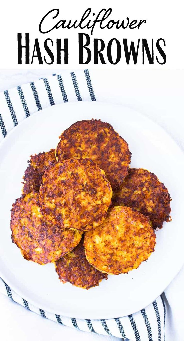 Cauliflower Hash Browns Keto diet recipes, Hashbrowns