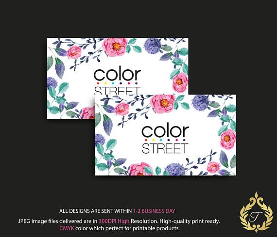 34 best color street business card images on pinterest business color street challenge card business instant digital reheart Image collections